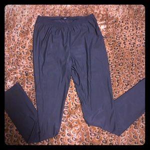 Ruti Pants - RUTI opaque stretch shiny black legging S M L